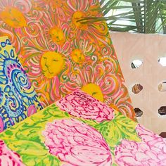 Lilly Pulitzer Paintings from the Print Studio