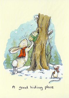 a good hiding place - Anita Jeram