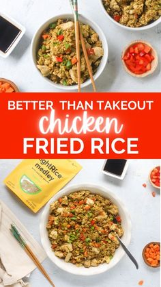 Looking for a blood sugar friendly version of chicken fried rice? This recipe is the perfect match thanks to the addition of RightRice Fried Rice Medley a blend of veggie and protein-packed RightRice…