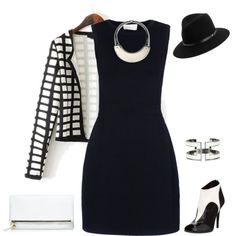 A fashion look from September 2014 featuring A.L.C. dresses, Tamara Mellon ankle booties and Clare V. clutches. Browse and shop related looks.