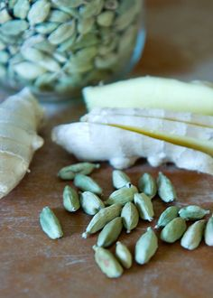 Cardamom & Ginger vodka - sounds like a nice start to a winter mixed drink