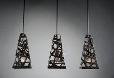 Stunning Recycled Metal Light Fixtures By Rafael Avramovich Of Brooklyn N Via Washington Post ABD IronWorld