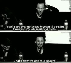 That is how we like it in Asgard