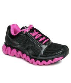 Reebok Black Ziglite Run Sports Shoes