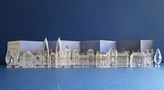 Swarovski Silver Crystal City complete.   | Kunst & Antiek, Kunst 19e Eeuw & Eerder, Overig | eBay! Swarovski, Genius Loci, Opera House, Louvre, Crystals, Ebay, Building, Silver, Travel