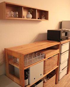 √ Inspiration DIY Furniture Project At Recyden 2020 Diy Furniture Easy, Diy Furniture Projects, Home Furniture, Sofa Layout, Muji Haus, Kitchen Interior, Kitchen Decor, Vanity Table Vintage, Diy Möbelprojekte