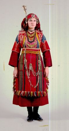 Folk Costume, Costumes, Greek Traditional Dress, Harajuku, Culture, Clothes For Women, Female, Wedding Dresses, Womens Fashion