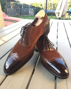 has done a fabulous job on my GG Walkton's - Thank you! Cordovan Shoes, Brogues, Loafers Men, Best Shoes For Men, Men S Shoes, Hot Shoes, Black Shoes, Derby, Mens Fashion Shoes