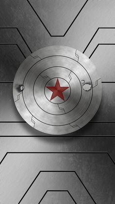 Winter Solder Shield; Bucky Wallpaper by Cory W.