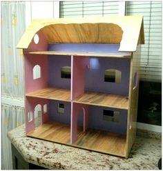 Casita de madera, doll house