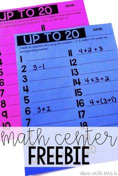 FREE Digital Math Fact Tracking Sheet | TpT Misc. Lessons | Pinterest