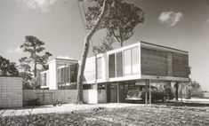 The C. Richard Leavengood Residence,St Petersburg FL. designed by Ralph Twitchell 1951. Destroyed.