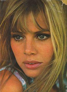 Britt Eklund's 60s Style.