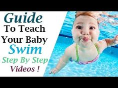 uSwim Level 1 Skill 2 Front Floating how to teach your baby to swim swimmin Swimming Lessons For Kids, Swimming Tips, Swim Lessons, Swimming Workouts, Teach Toddler To Swim, How To Teach Kids, Teaching Babies, Baby Learning, Baby Float
