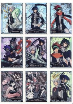 D gray Man_Trading Cards_Shining Clear Card Vol1_Regs_01