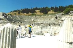 Theater where the apostle Paul preached. Ephesus, Turkey August 2015