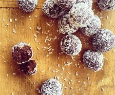 Recipe Raw cacao bites by Louise Fulton Keats - Recipe of category Baby food