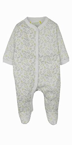 Winbright Baby Boys Lovely Rabbit Footed Sleeper PajamaWhite  New Born >>> You can get more details by clicking on the image.