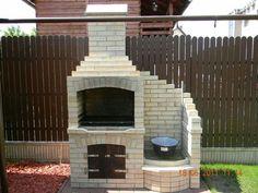 Barbecue Garden, Outdoor Barbeque, Outdoor Oven, Outdoor Fire, Backyard Kitchen, Outdoor Kitchen Design, Small Backyard Design, Garden Design, Outdoor Garden Bar