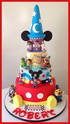 My Grandson's Disney Christening Cake
