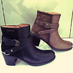 An on trend ankle boot from Hispanita to take you from autumn to winter in style.