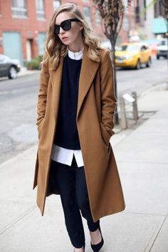 10 Style Staples Every Woman Should Have In Their Wardrobe: Camel Coat. For more ideas, click the picture or visit www.sofeminine.co.uk