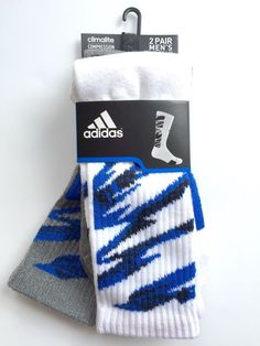 Adidas ClimaLite Compression Odor Resistant Camo Crew Athletic Socks Men'S | eBay