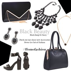 Black Beauty Collection  Black keep Classy