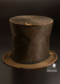 Abraham Lincoln's stovepipe hat goes on display here at the Abraham Lincoln Presidential Museum January 23, 2013.