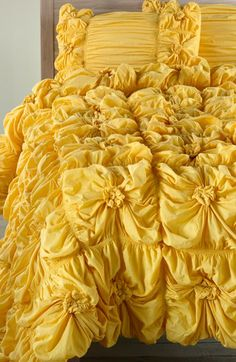love love love this for the spare bedroom- must splurge since I have DIY-ed everything else in the room. it reminds of Belle's dress from Beauty and the Beast!