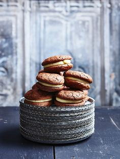 These subtly spiced buttercream biscuits are devilishly good.