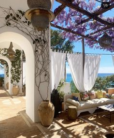 Dream Home Design, House Design, Porches, Beautiful Places, Beautiful Pictures, Holiday Places, Luxury Holidays, Travel Aesthetic, Wisteria