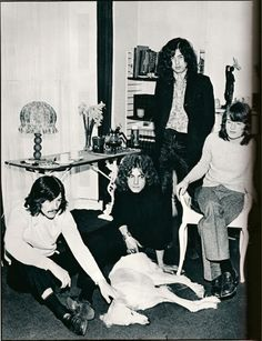 Led Zeppelin looks like they killed that dog