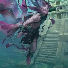 Post with 1942 votes and 122979 views. Tagged with warhammer, lol, rpg, mtg, dnd; RPG Character Art Dump (Sorry if there are duplicates) Fantasy Inspiration, Character Design Inspiration, Fantasy Races, Fantasy Art, Concept Art Alien, Mtg Art, Mermaids And Mermen, Creature Concept, Mermaid Art
