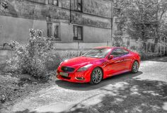 #hdr #sgs5 #photo #street #view #car #infiniti #red #cars #chernivtsi #ukraine #blackandred #black#sun