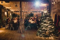 Whitney   Mike \ a winter wonderland Terrain at Styers Wedding