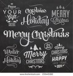 Resultado de imagen de merry christmas vintage invitation card