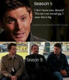 That doesn't look like season 1 dean