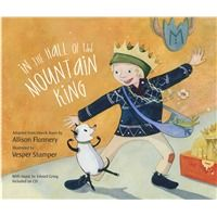 """In The Hall of the Mountain King is based on the 1867 play """"Peer Gynt"""" by Henrik Ibsen and set to Edvard Grieg's musical masterpiece. Pick up a copy of Hall of Mountain King today from West Music! Preschool Music, Teaching Music, Music Activities, Movement Activities, Preschool Class, Language Activities, Music Lesson Plans, Music Lessons, Piano Lessons"""