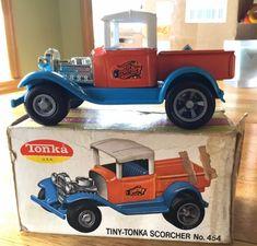Tonka Toys, Old School Toys, Ebay Search, Toy Sale, Antique Cars, Tin, Trucks, Steel, Vintage