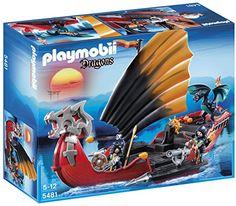 ¡Chollo! Playmobil Dragones Barco de batalla del dragón por 28.83 euros.