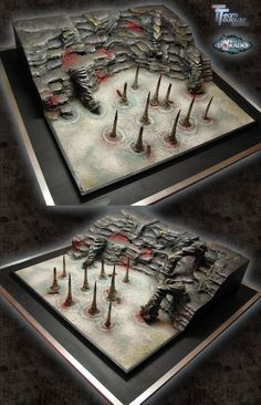 TeamToulouse Création - Hell Dorado board (J'ai même joué dessus ;)
