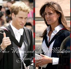 Graduation of Prince William and Kate Middelton