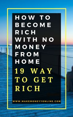 No book in the world can guarantee the richness Become Rich With No Money. It is a fantasy, but it can show the way, tools and how to Become Rich With No Money. I believe that there is no difference between your decent person and any rich in the world. Only the rich decided and set his goal in the past to be rich.and you did not decide and did not set your goal after this is the difference between you and the rich.