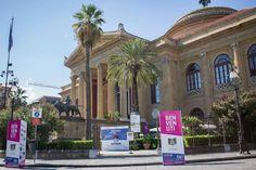 Quest'anno a ospitarci la splendida cornice del Teatro Massimo di Palermo Da qui parte il percorso delle degustazioni che vi porterà, tra un cono e una coppetta, fino in C.so Vittorio