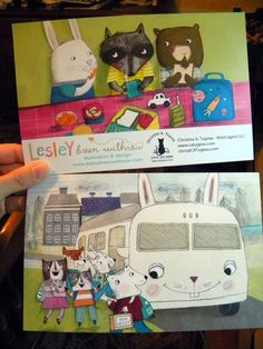 postcard mailer - Leslie Breen Withrow