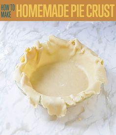Pie Crust Recipe Even Beginners Can Make
