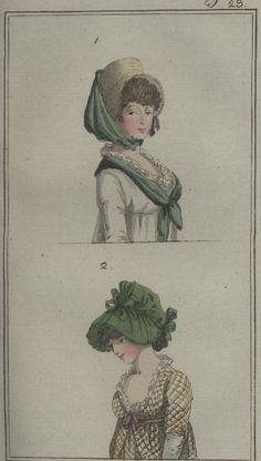 August 1798 Journal des Luxus und der Moden
