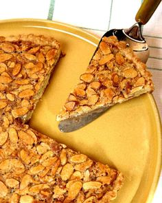 This delicious recipe for almond tart comes courtesy of Jesse James.