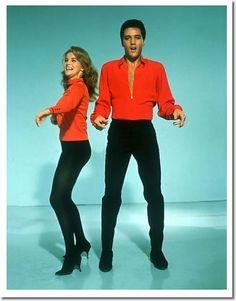 Ann-Margaret and Elvis Presley ....Viva Las Vegas - MGM 1964
